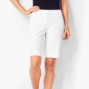 Talbots White Bermuda Shorts size 10 Medium